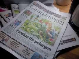 Länstidningen framsida